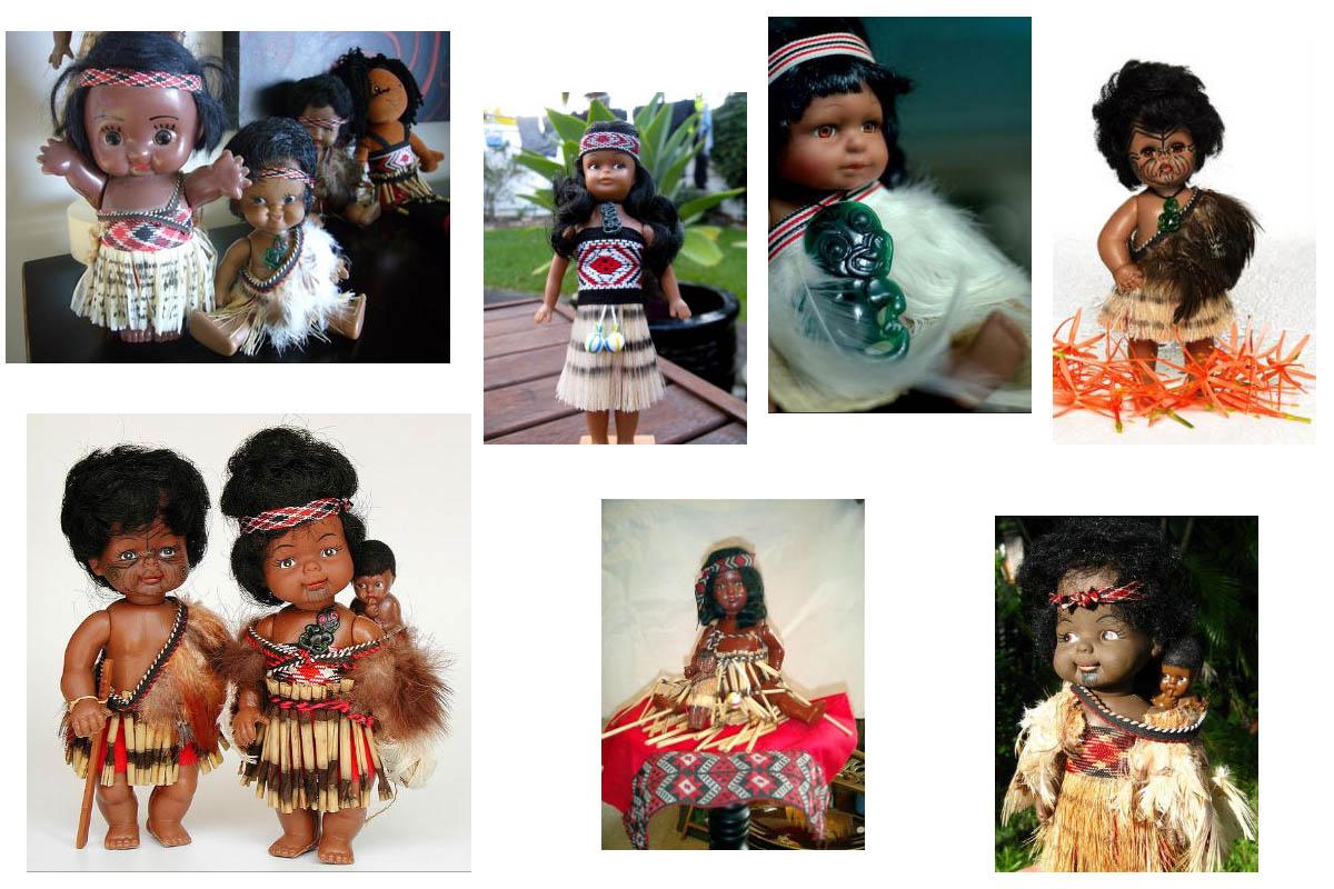 Сувениры из Новой Зеландии: куклы-маори