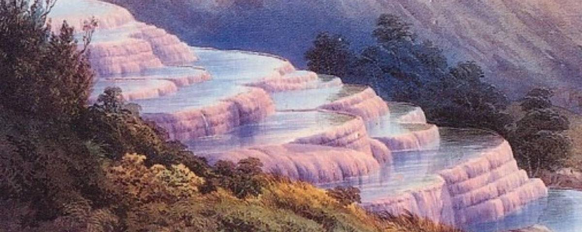 Розовые террасы