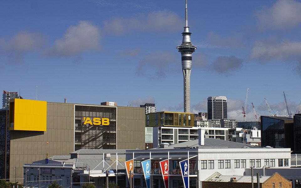 Здание ASB в Окленде