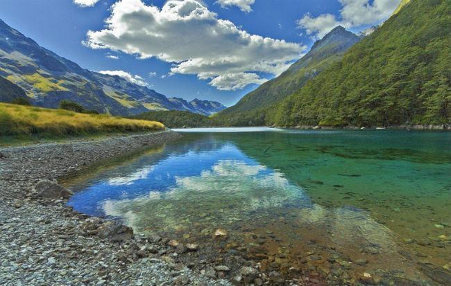 Rotomairewhenua - самое чистое озеро в Новой Зеландии