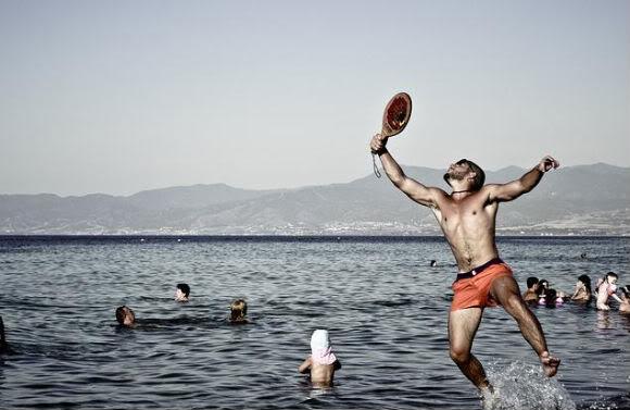Кипр. Пляжный теннис.
