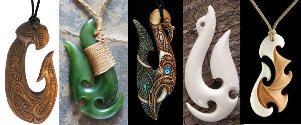 Символы маори и их значение: рыбный крюк