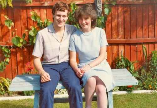 Джон с женой Броной
