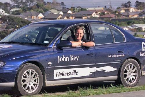 Джон Ки - кандидат от Национальной партии в Хеленсвилле