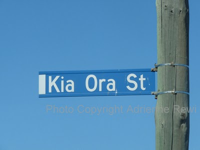 Kia Ora Street. Aranui, Christchurch South Island.
