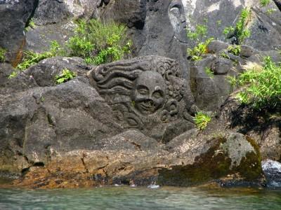 Наскальная резьба в Майн Бэй, Таупо