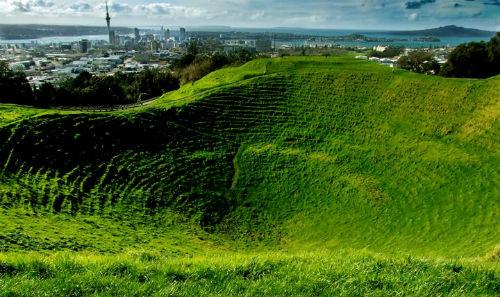 Окленд - город парусов и вулканов