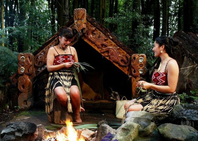 Маори - коренной народ Новой Зеландии