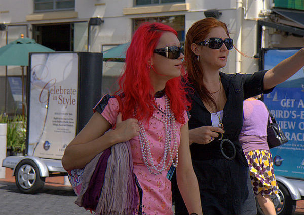 Странно одевающиеся женщины