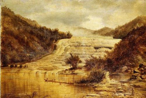 Розовые террасы (картина)