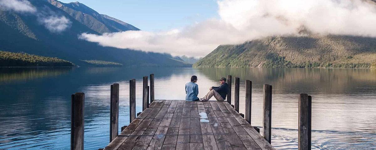 Самое чистое озеро в Новой Зеландии