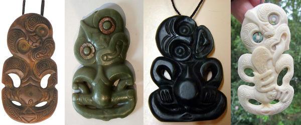 Символы маори и их значение: тики