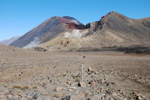 Вулкан Тонгариро (Tongariro)