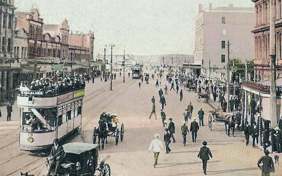 Фото Окленда 1908 года