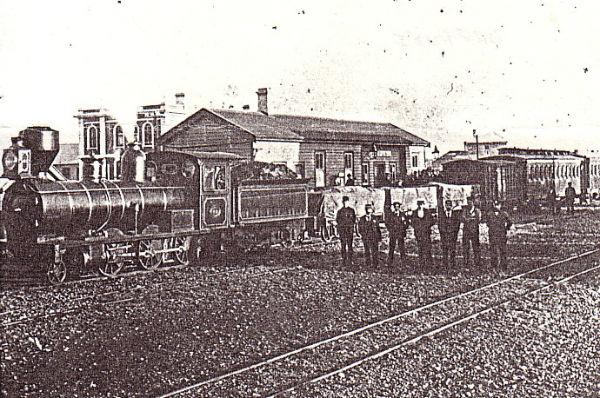 Железнодорожная станция Орепуки, Новая Зеландия
