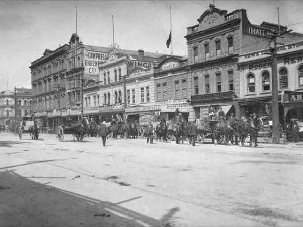 Queen Street со стороны Quay Street East, 1910-е