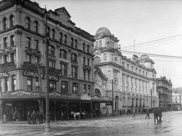 Queen Street со стороны Quay Street West, 1912 год