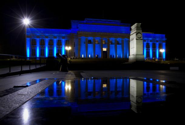Военно-мемориальный музей. Окленд