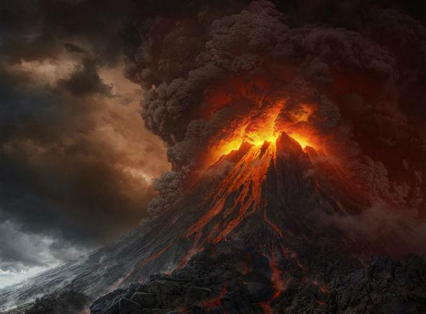 Вулкан Нгаурухое в Национальном парке Тонгагиро