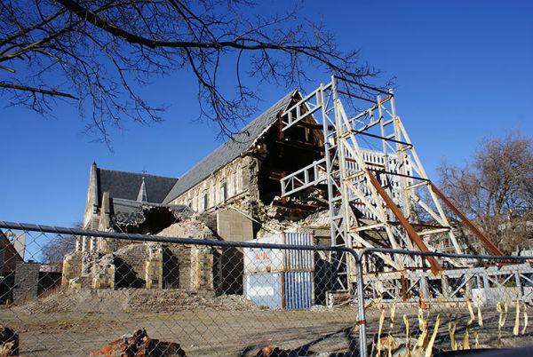 Восстановление Крайстчерча: открытие Кафедральной площади