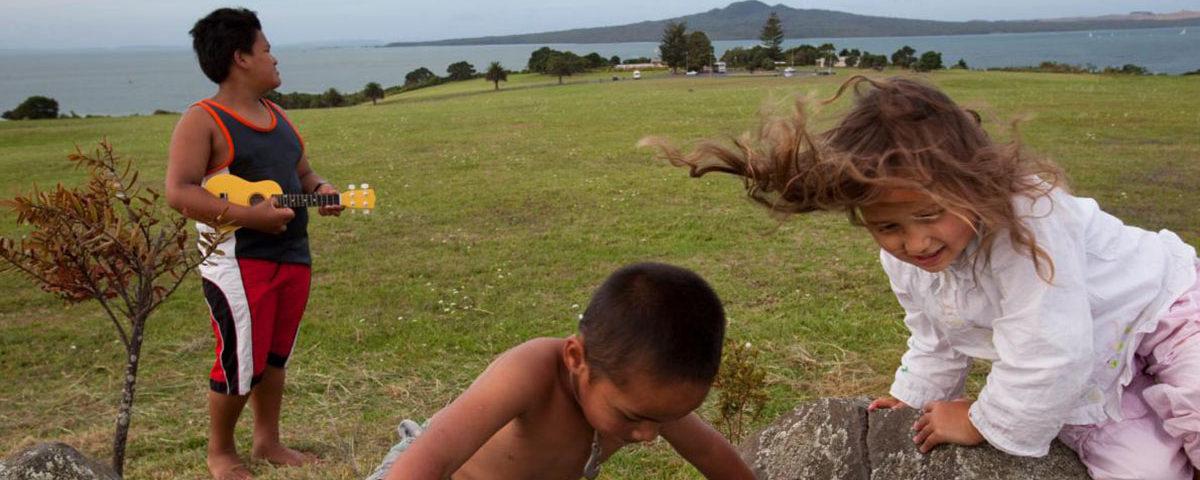Дети маори