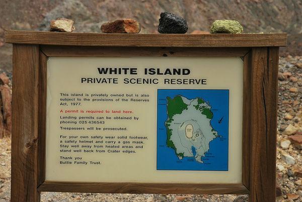 Остров Уайт (White Island/Whakaari)