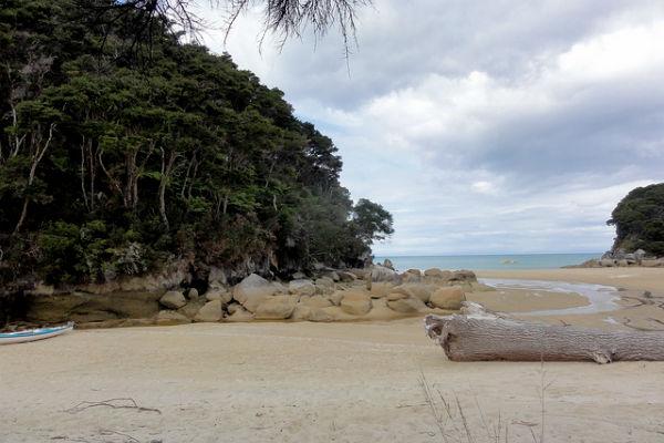 Mosquito Bay, Национальный парк Абель-Тасман, Южный остров