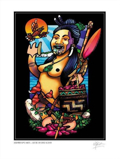 Уоррен Похату - традиционное искусство маори в современной интерпретации