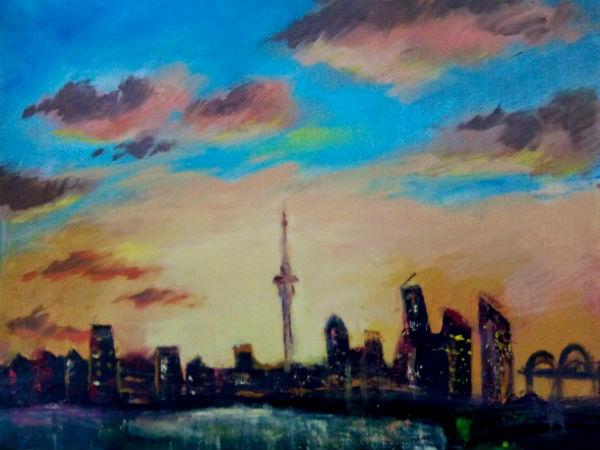 Новая Зеландия, Окленд - работа Ларисы Климовой