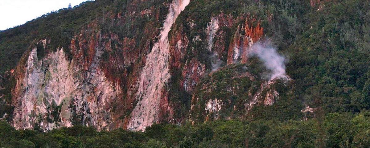 Радужная гора в Роторуа