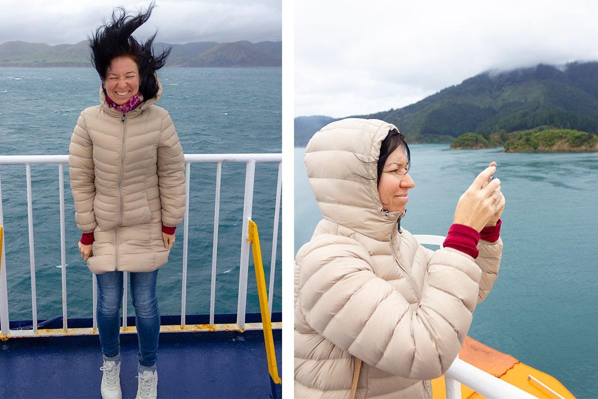 Сильные ветра в проливе Кука